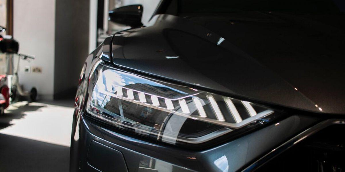 grey detailed car
